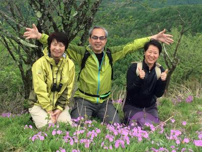 飯盛山DE婚活(5/30)の下見登山をしてきました。
