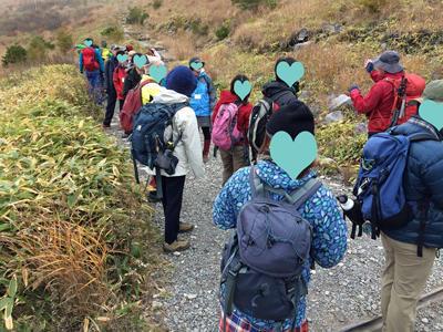 車山高原トレッキング(10/23) 実施報告