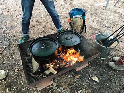 焚き火とダッチオーブンde婚活(2/5) 実施報告