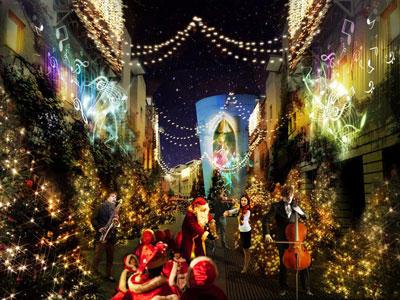 エルダーの冒険・12月編 クリスマスの町歩き 今回は中止と致します