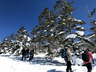 スノーシューde婚活in蓼科Ⅱ(3/9) 実施報告 最高の冬景色に春の気温(^^)/ 誰の行いがよかったのでしょう♪